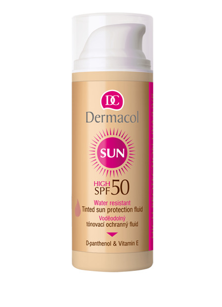 SUN Waterafstotend TINTED PROTECTION FLUID Factor 50
